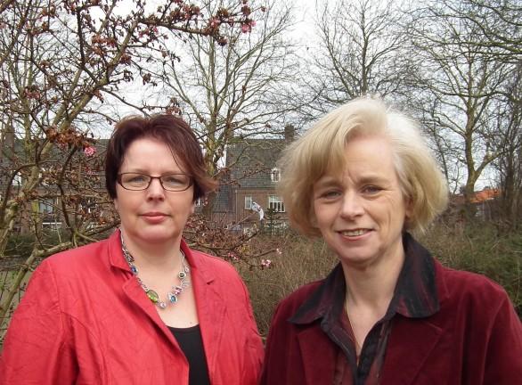 Ieipie Lindeboom-Hospes (links) en Henrieta Stielstra (eigen foto)