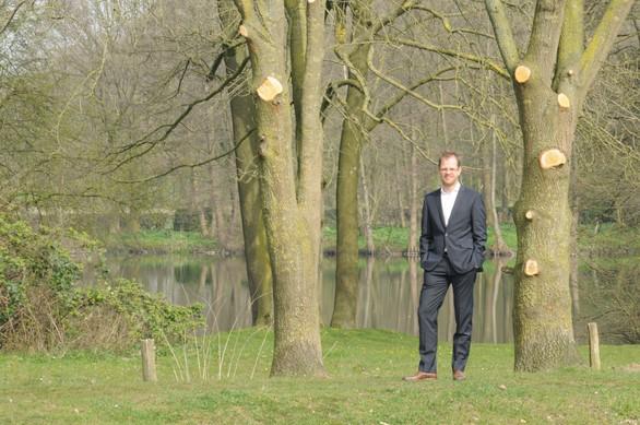 Monuta De Groen-pad in Arboretum Oudenbosch
