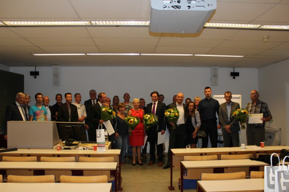 Docendo's geslaagde studenten Thanatopraxie ontvangen diploma