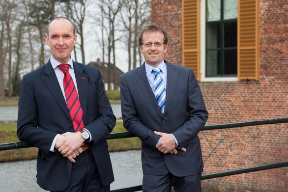 vlnr: Onno van Andel, Jan Lammers