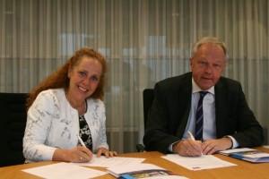Ondertekening convenant Yarden Veiligheidsregio IJsselland