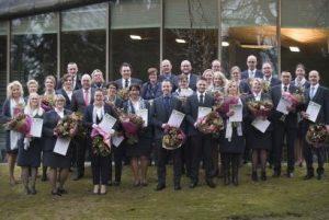35 uitvaartverzorgers van Monuta ontvangen NaVU-diploma