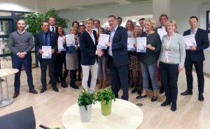 Presentatie Yarden bij FC Utrecht over Uitvaart van de Toekomst