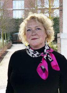 Sandy Sullivan hoofdspreker tijdens congres Funeral Future