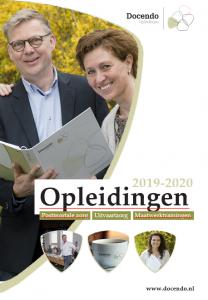 Docendo opleidingsbrochure cursusjaar 2019-2020 uit